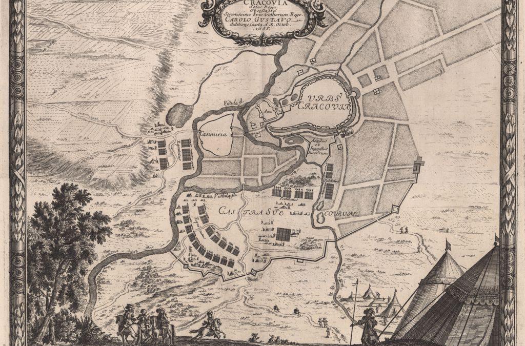 1655, Plan oblężenia Krakowa przez wojska szwedzkie