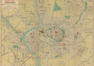 1921, Nowy plan Krakowa