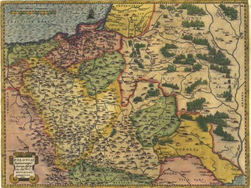 1579, Mapa Polski Wacława Grodeckiego