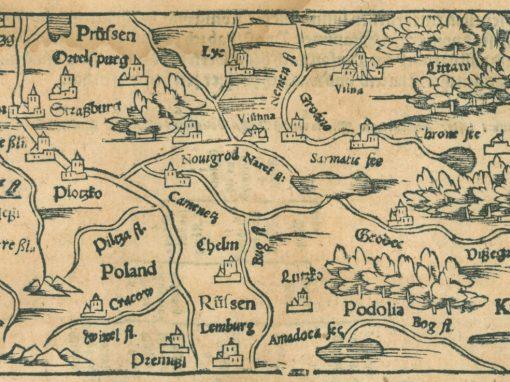 1598, Kraków w Cosmographii