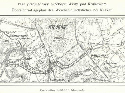 1904, Projekt przekopu Wisły pod Krakowem