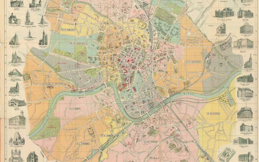 1935, Najnowszy plan Krakowa