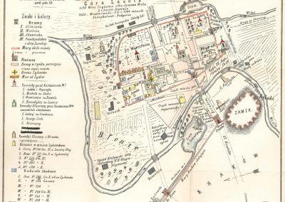 1370, Plan miasta Kazimierza
