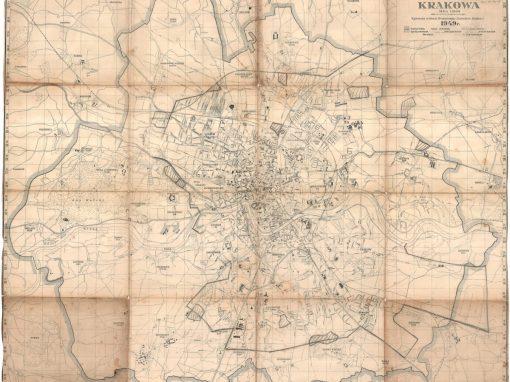 1949, Plan Stołecznego Królewskiego Miasta Krakowa