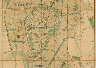 1904, Plan Miasta Krakowa J. Jezierskiego
