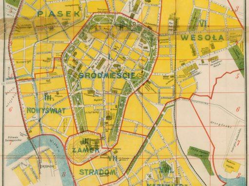 1909, Plan Miasta Krakowa J. Jezierskiego