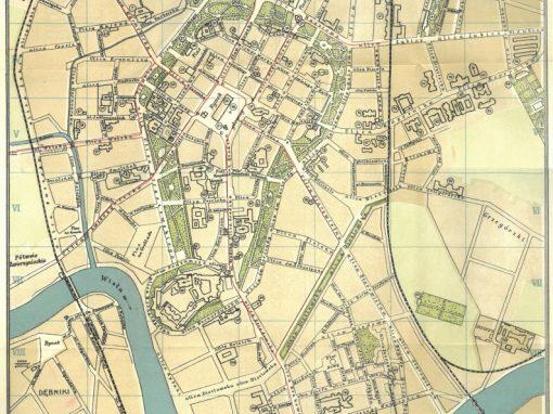 1912, Plan Miasta Krakowa J. Jezierskiego