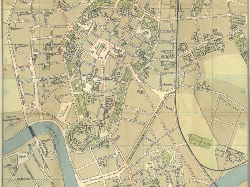 1913, Plan Miasta Krakowa J. Jezierskiego (I)