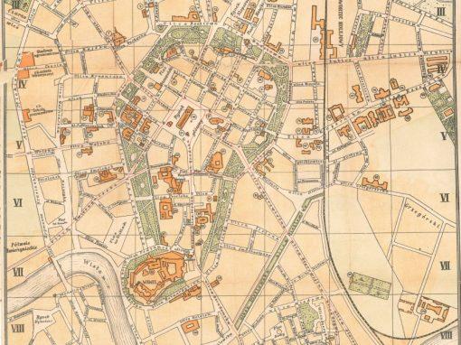 1913, Plan Miasta Krakowa J. Jezierskiego (II)