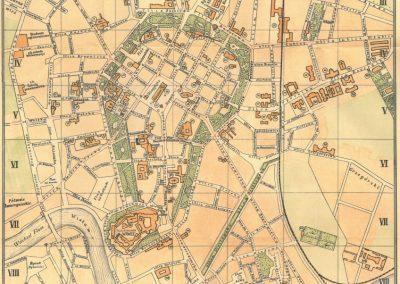 1913, Plan Miasta Krakowa J. Jezierskiego (III)
