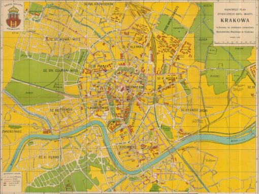 1933, Najnowszy Plan Stołecznego Królewskiego Miasta Krakowa (I)