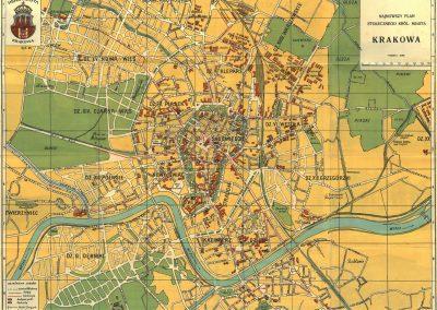 1933, Najnowszy Plan Stołecznego Królewskiego Miasta Krakowa (II)