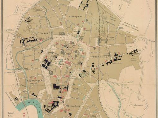 1898, Najnowszy Plan Królewskiego Stołecznego Miasta Krakowa
