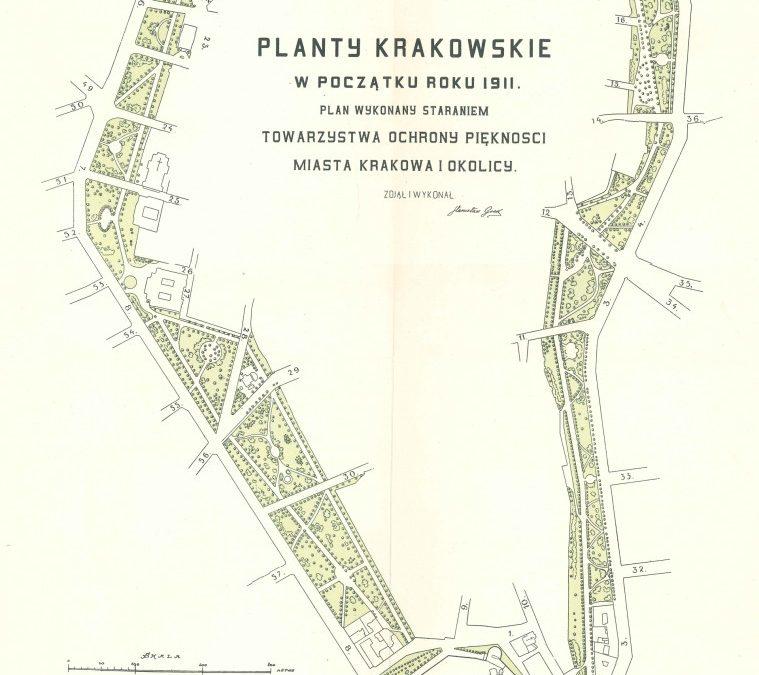 1911, Planty Krakowskie