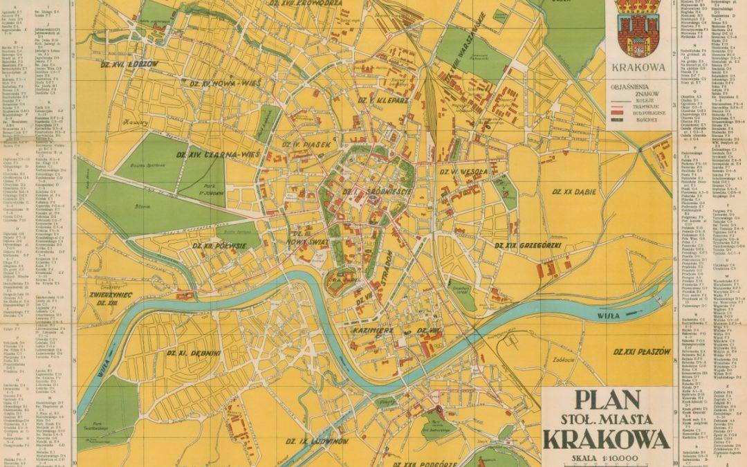 1934, Plan Stołecznego Miasta Krakowa
