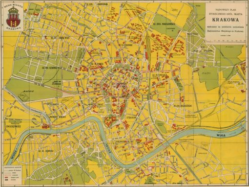 1936, Najnowszy Plan Stołecznego Królewskiego Miasta Krakowa