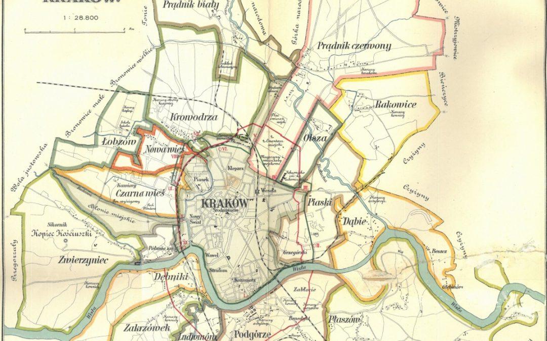 1905, Plan Wielkiego Krakowa
