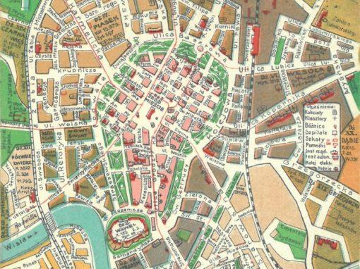 1910, Kieszonkowy Plan Wielkiego Krakowa