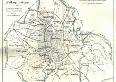 1913, Plan Wielkiego Krakowa