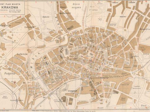 1916, Nowy Plan Miasta Krakowa