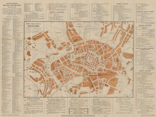 1924, Nowy Plan Miasta Krakowa