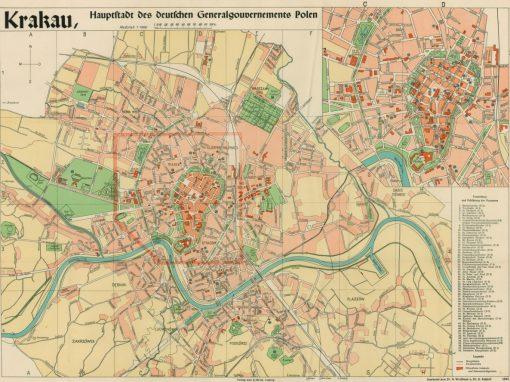 1940, Krakau, Hauptstadt des deutschen Generalgouvernements Polen