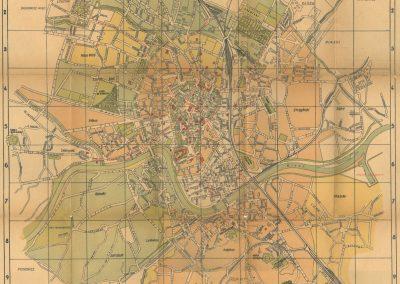 1936, Najnowszy Plan Miasta Krakowa