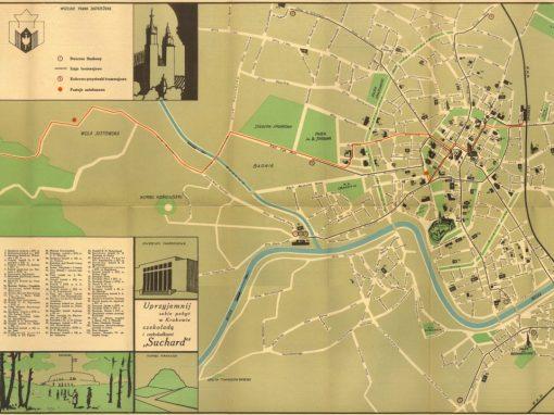 1936, Plan turystyczno-orientacyjny miasta Krakowa