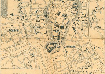 1939, Najnowszy plan miasta Krakowa