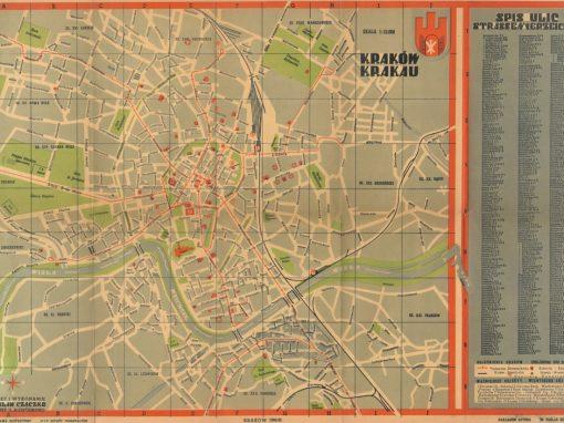 1939, Nowy Plan Miasta Krakowa