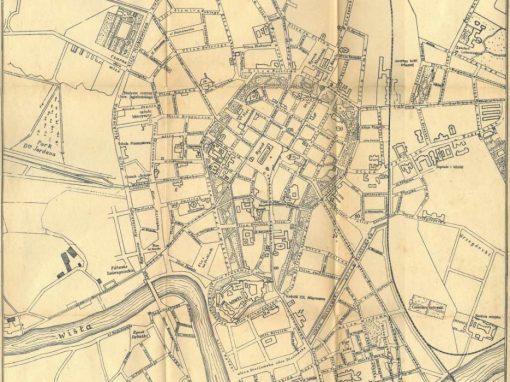 1925, Najnowszy plan Krakowa